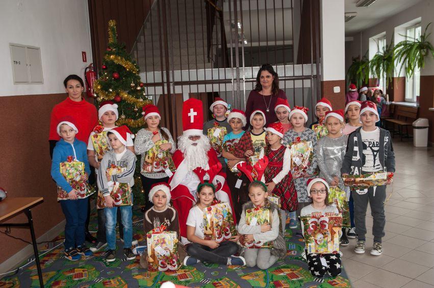 Święty Mikołaj w naszej szkole!