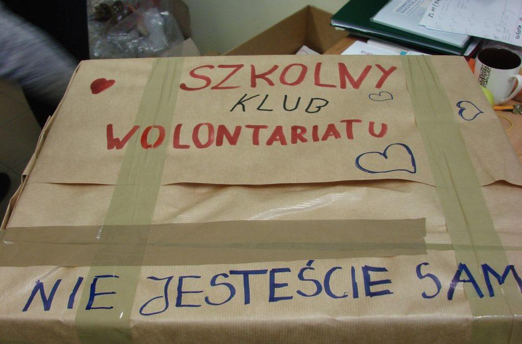 Lubimy pomagać! – Szkolne Koło Wolontariatu