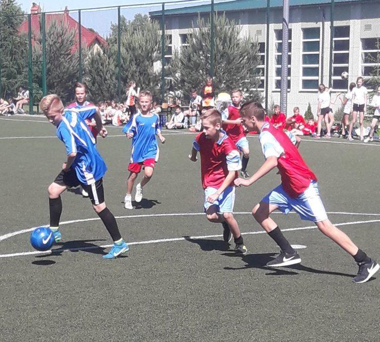 Mini piłka nożna – zawody gminne