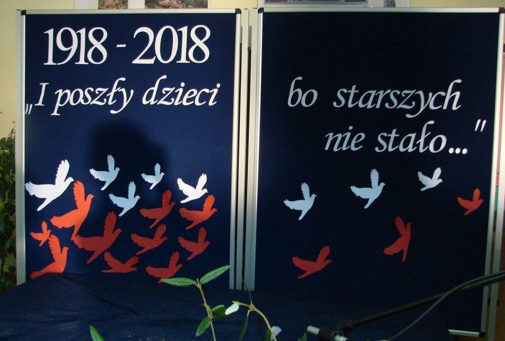 X Międzyszkolny Konkurs Pieśni i Poezji Patriotycznej.