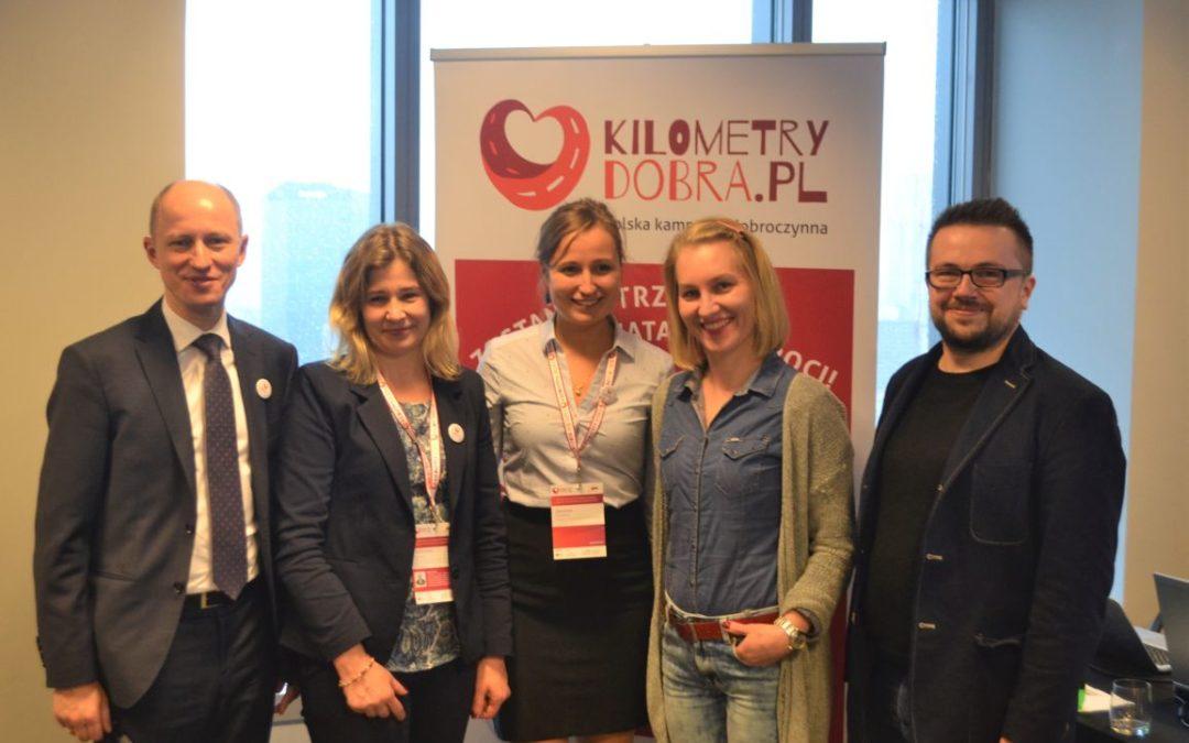 Konferencja Kilometrów Dobra i 10. Konferencja Fundraisingu w Warszawie