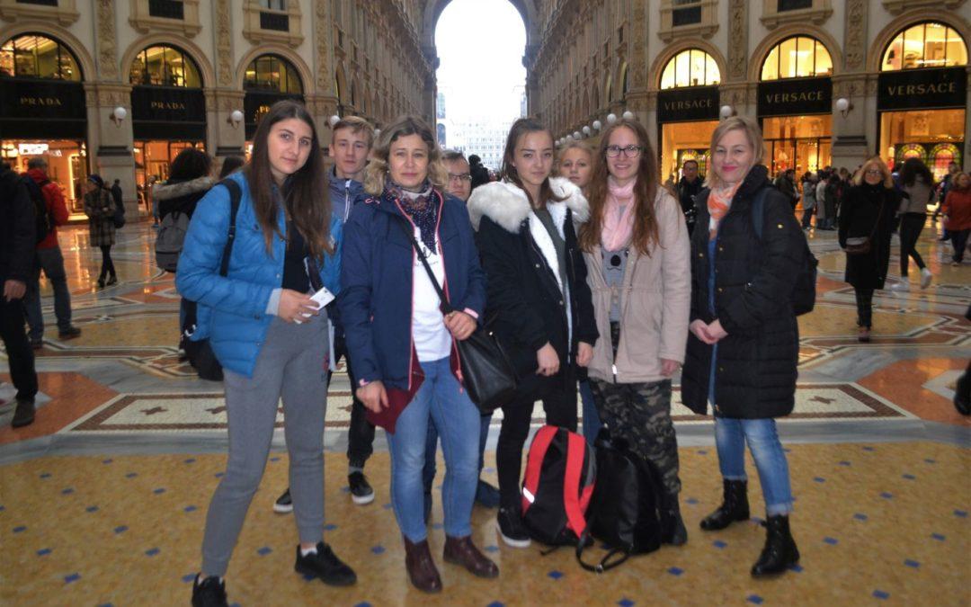 Międzynarodowe spotkanie uczniów  w ramach programu Erasmus+ we Włoszech