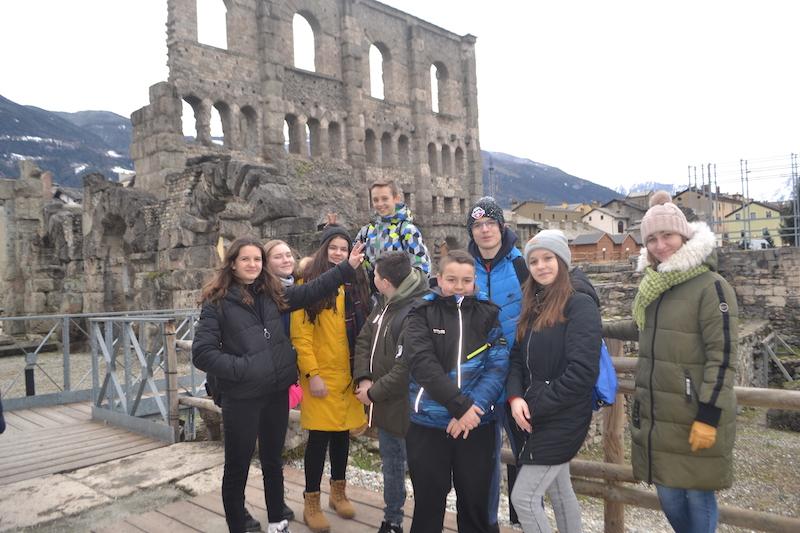 Międzynarodowe Spotkanie Projektowe Erasmus + w Turynie