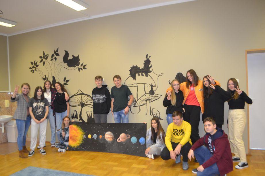 Dzień projektowy w Szkole Podstawowej w Roźwienicy